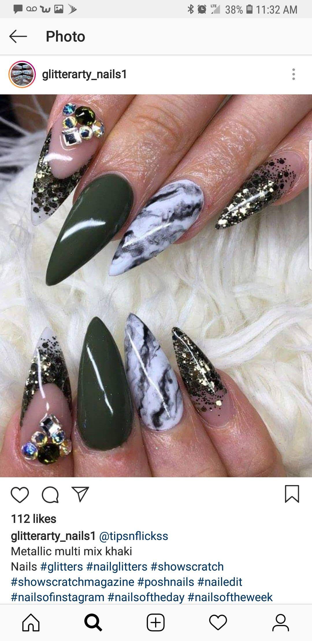 Very good Niki Demar Halloween Nails