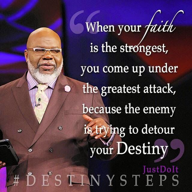 Bishop TD Jakes Potters House Word For Today Daily Devotional Extraordinary Td Jakes Pain Full Quotes
