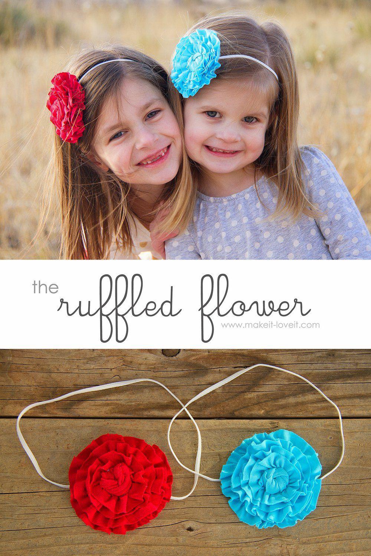 flower girl headbands diy