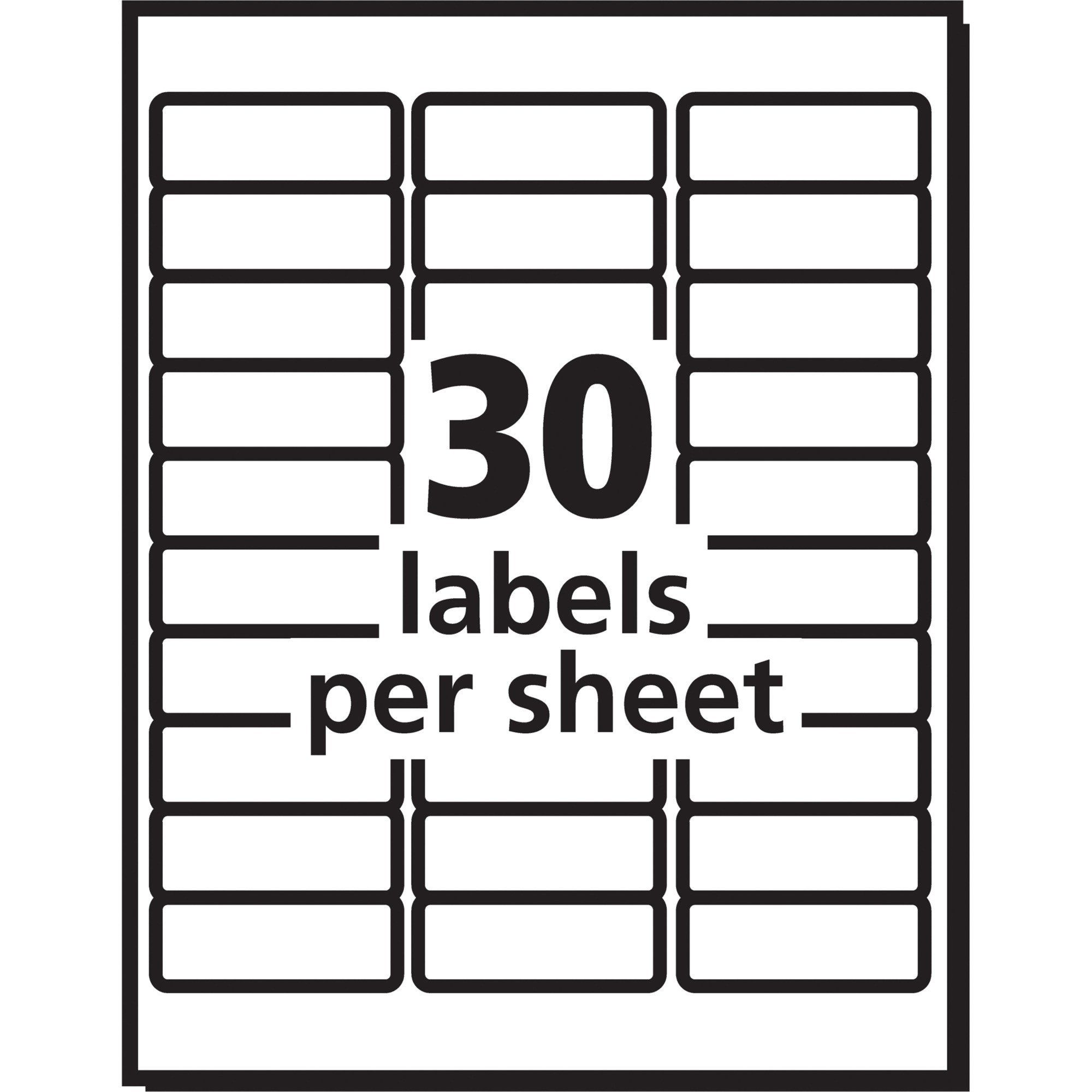 Label Template In Word Avery 8160 Label Template Word Templates Data Address Label Template Return Address Labels Template Label Templates
