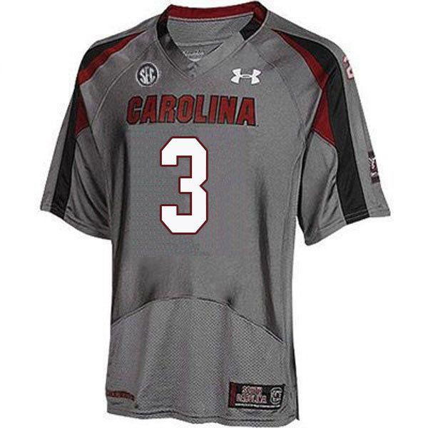 39315ff622d Men #3 K.C. Crosby South Carolina Gamecocks College Football Jerseys Sale- Gray