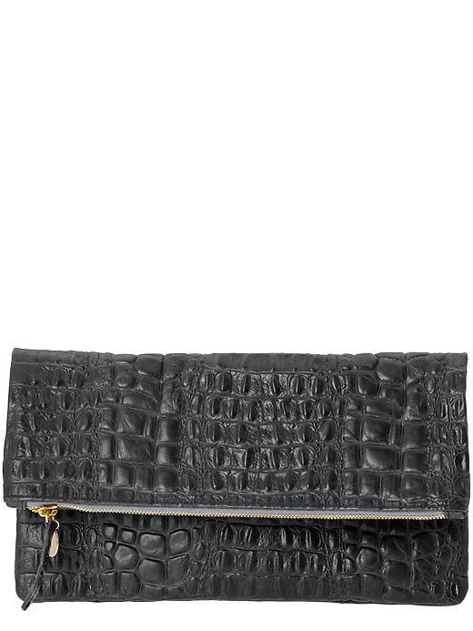 LIQUIDATION Eastbay Réel Pas Cher Clare Clare Vivier V. Femme Embrayage Cuir Texturé Noir Taille Vente Payer Avec Paypal Pas Cher Large Gamme De De Haute Qualité Pas Cher keIIgzO3