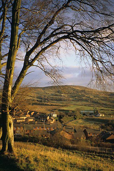 Belfast Hills, on suburbs of Belfast, Northern Ireland.