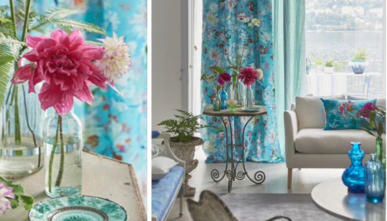 Designers guild voorjaars collectie gordijnen