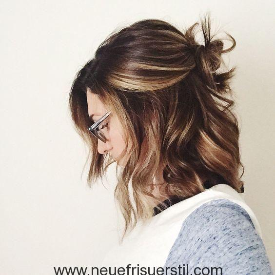 60 Einfach 5 Minuten Kurze Frisur Ideen Fur Vielbeschaftigte Damen Neue Friseur Stil Frisuren Haarschnitte Business Frisuren Frisuren Schulterlang
