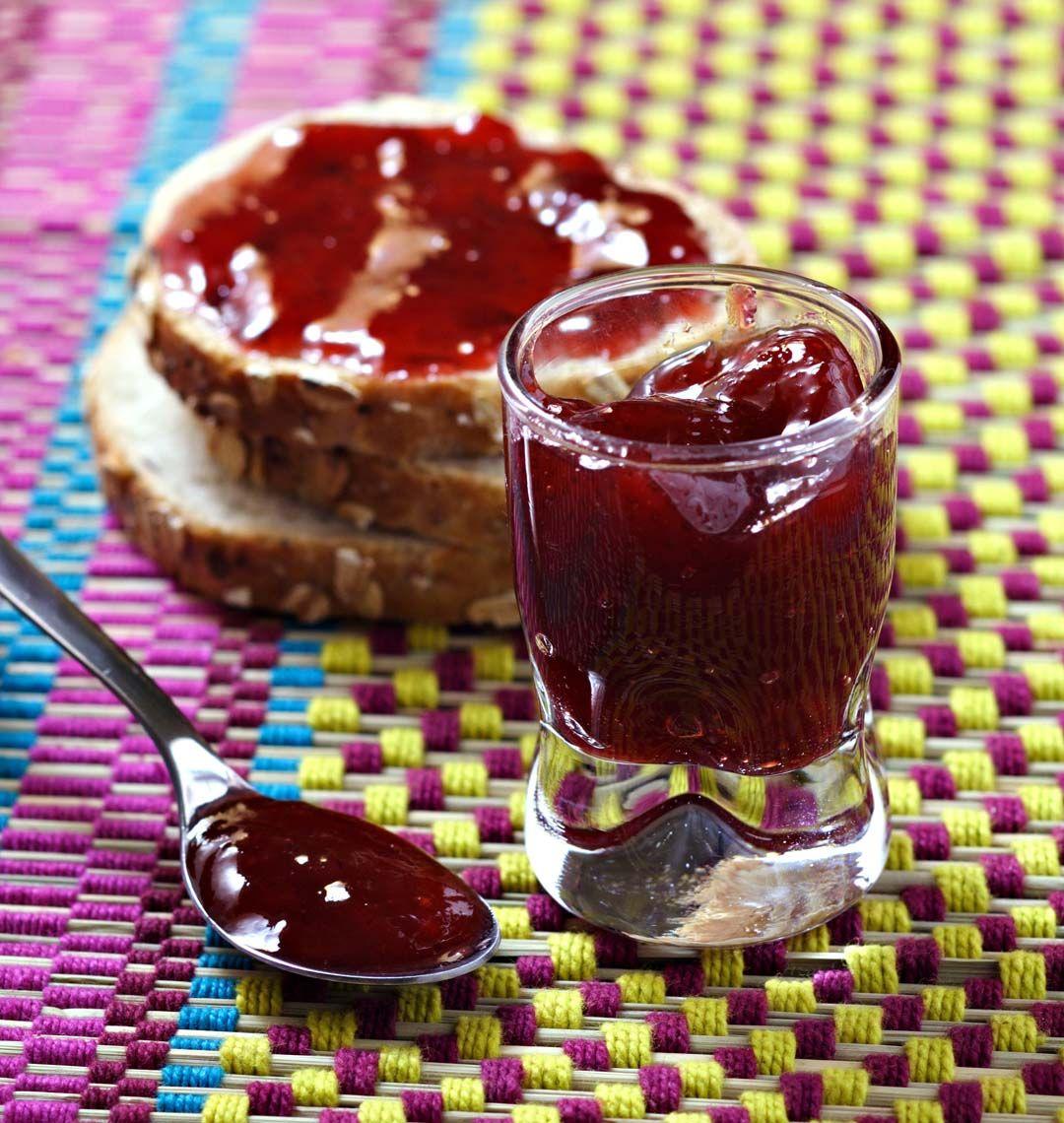 Confiture mangue fraises recette en 2019 confiture - Cuisiner des figues fraiches ...
