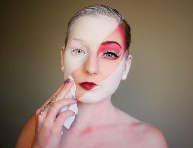 maquillage halloween original et facile