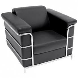 Reception Leather Lounge Chair Enrich The Setting Of Your Home Or Office  With The Clean Classic