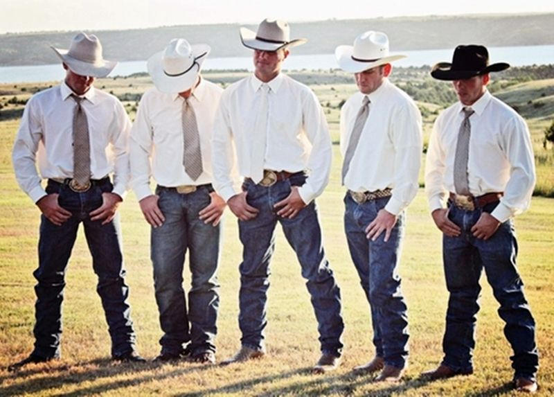 Cowboys dressed for a wedding. | Rustic and Country Weddings ...