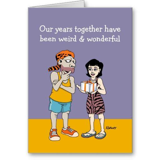 Funny anniversary card weird and wonderful monkey moto graphics funny anniversary card weird and wonderful m4hsunfo