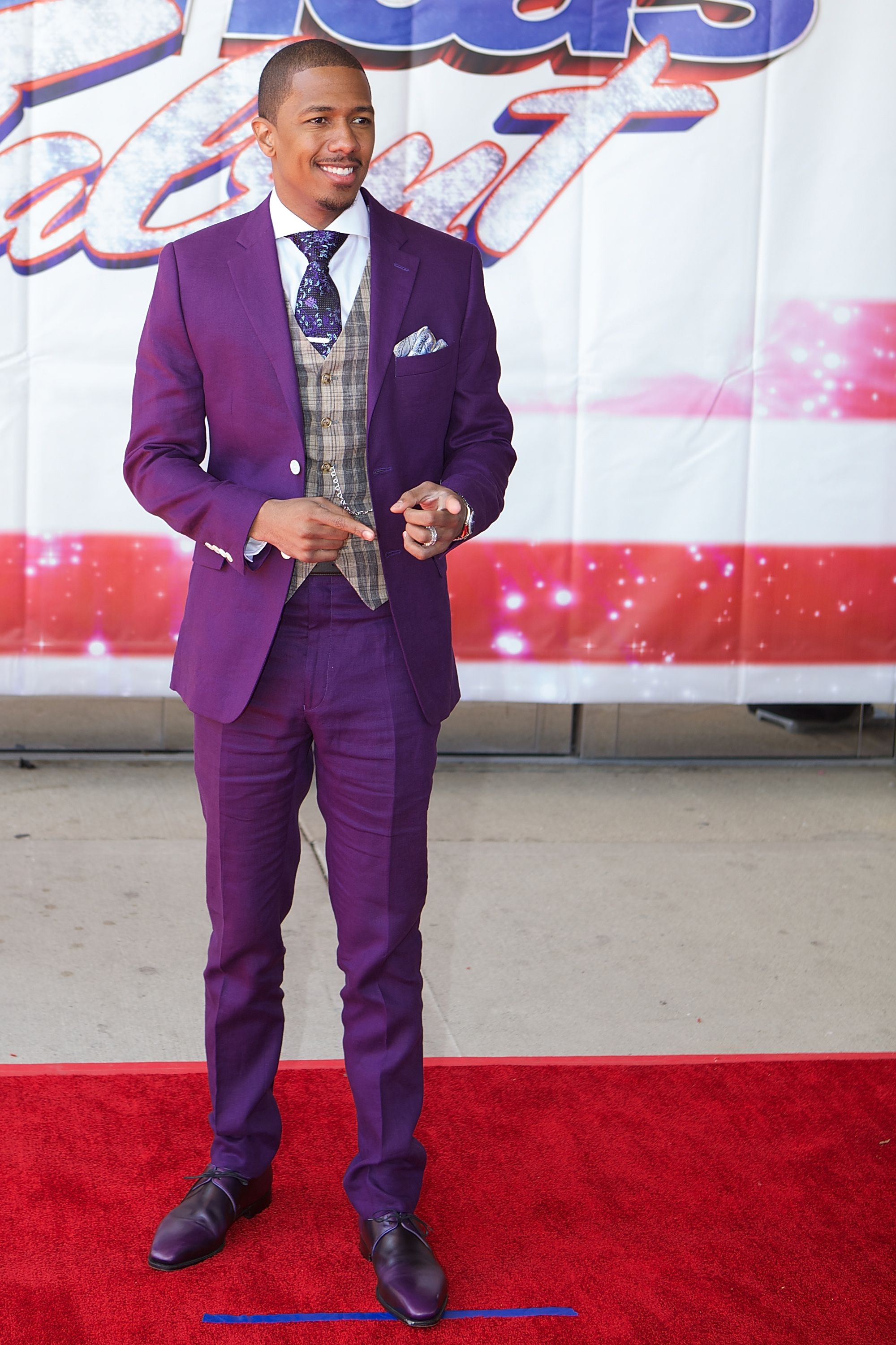 Nick Mariah S Biggest Parenting Disagreement Nick Cannon Purple Suits Well Dressed Men