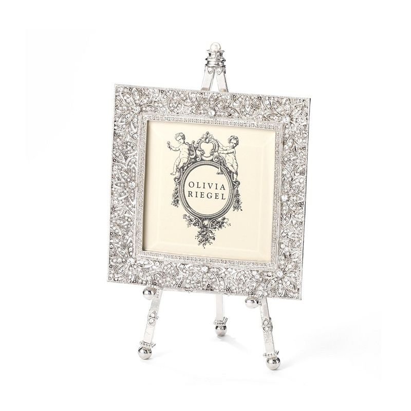 Dozens Of Hand Set Swarovski® Crystals And Faux Pearl Details Add  Substantial Sparkle To This Olivia Riegel Frame Collection. An Elegant  Decorative Easel ... Pictures