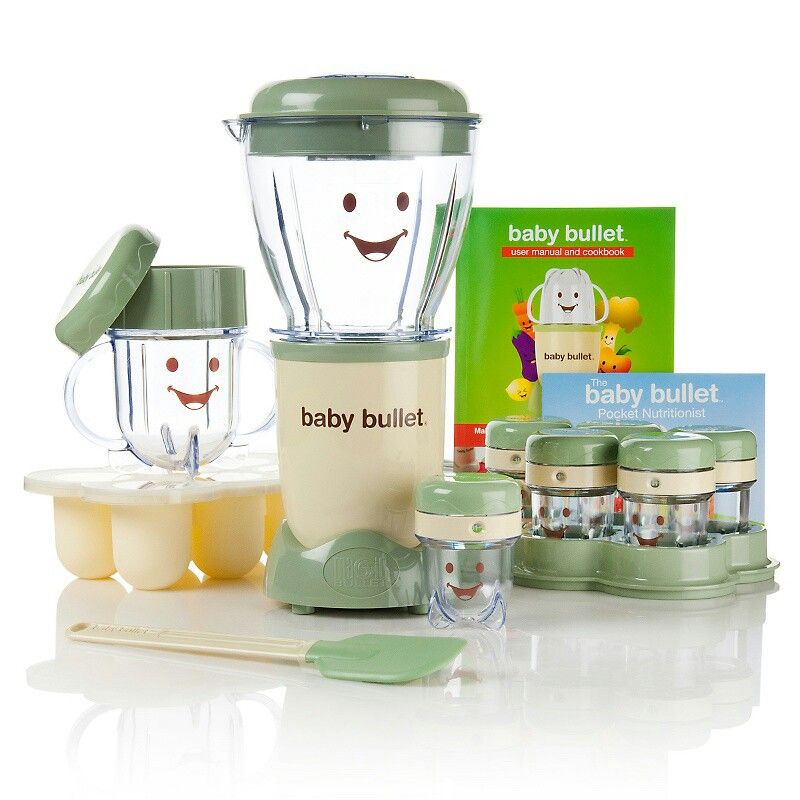 I want to try this baby food processor baby bullet