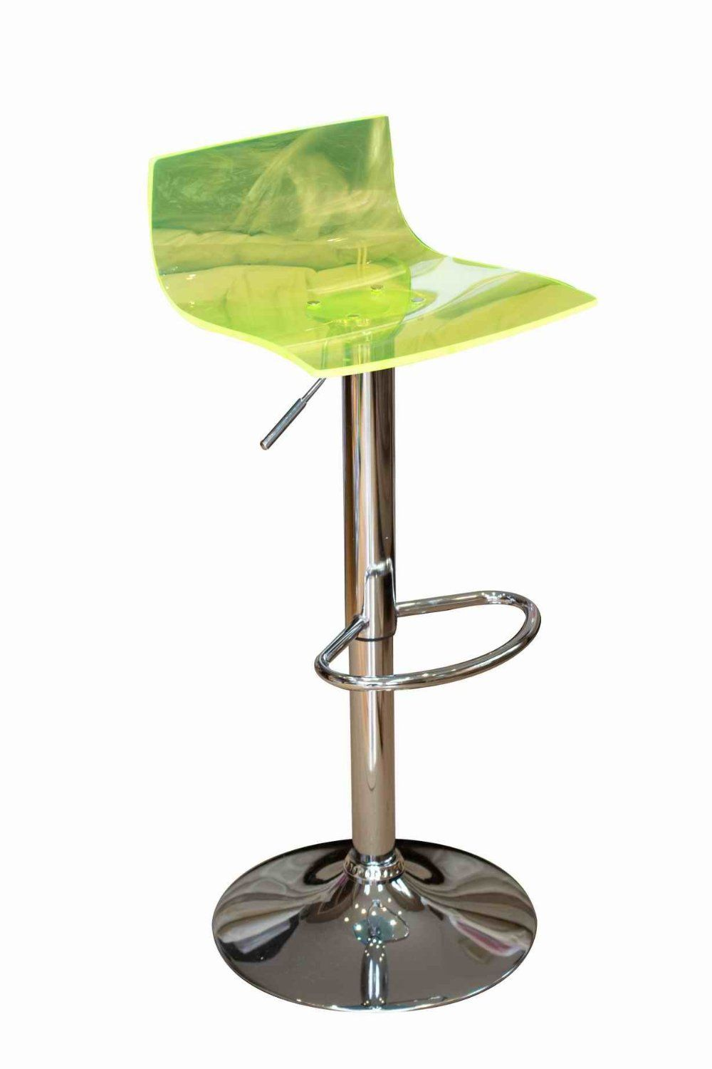 Miraculous Crystal Transparent Lime Green Acrylic Bar Stool By Vissanta Alphanode Cool Chair Designs And Ideas Alphanodeonline