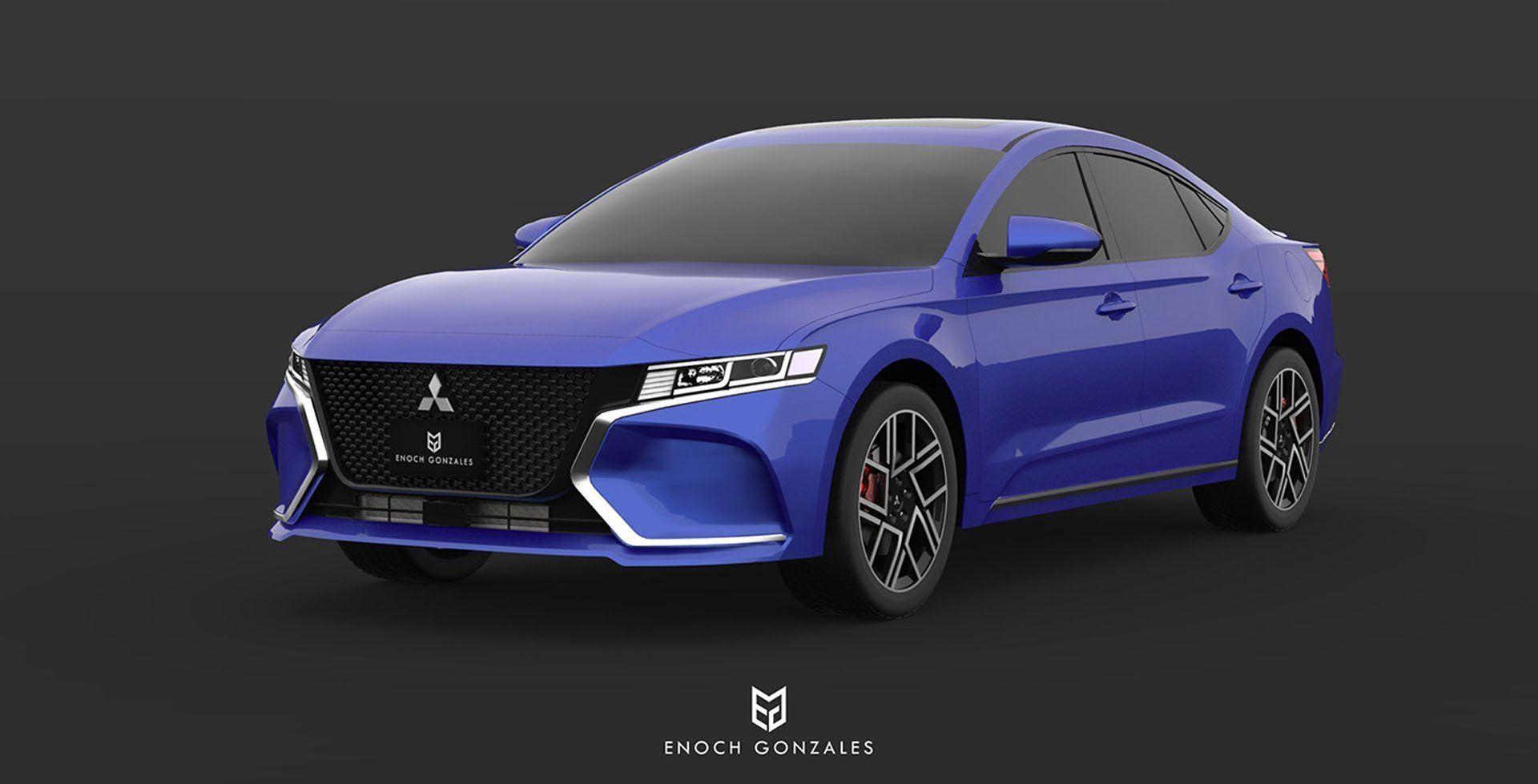 New 2020 Mitsubishi Galant Redesign Car Price 2019 Mitsubishi Galant Mitsubishi Sedan