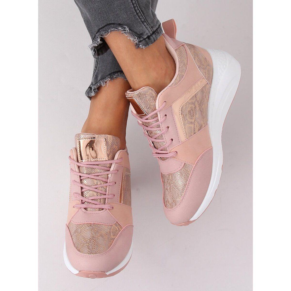 Sneakersy Na Koturnie Rozowe Yl 33 Champagne Puma Fierce Sneaker High Top Sneakers Sneakers