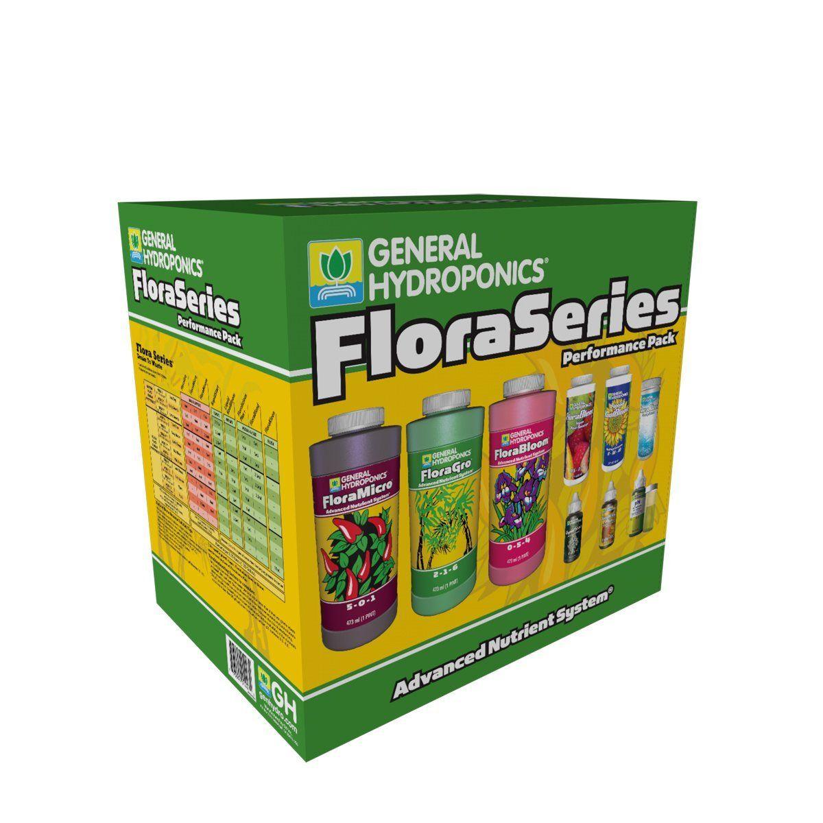 General Hydroponics Flora Series Performance Pack Amazon 400 x 300