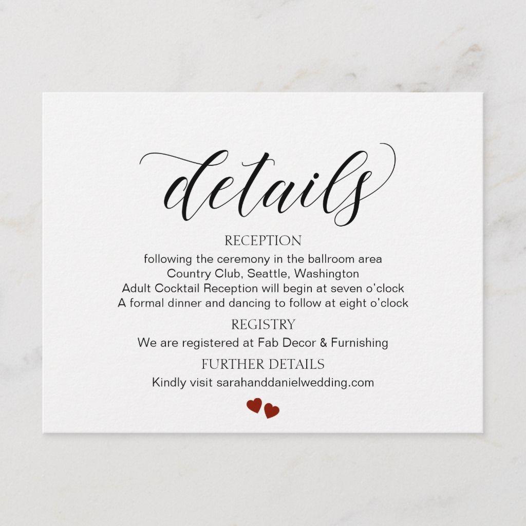 Pin By Regina Daszkiewicz On Wedding Rsvp Wedding Cards Wording Rsvp Wedding Cards Wedding Info Card