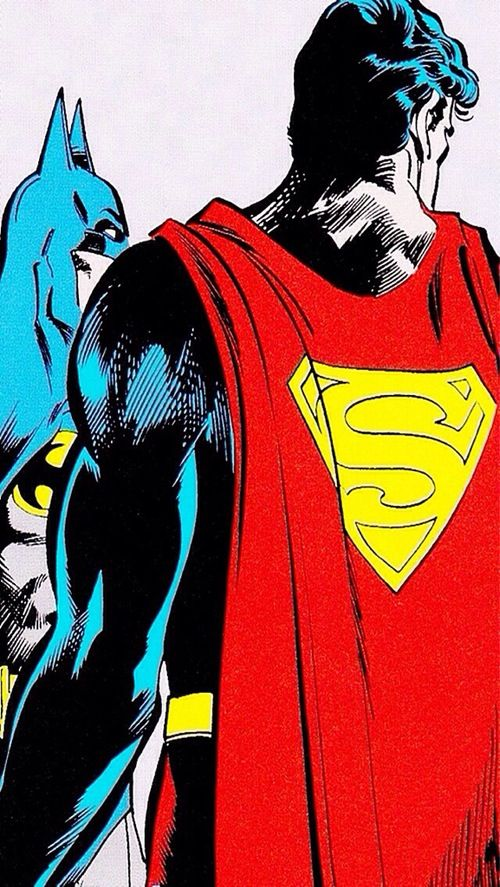 Superman Batman IPhone 5 Wallpaper