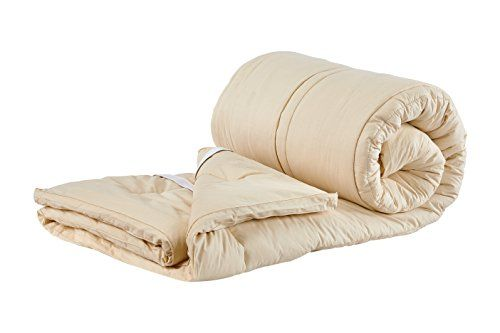 Sleep  Beyond 72 by 84Inch Organic Merino Wool Mattress Topper California King Ivory *** Want additional info? Click on the image. #MattressToppers