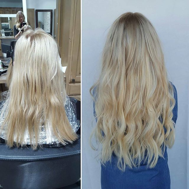 Blonde By Mackenzie Mackenziedoinghair Before And After On This
