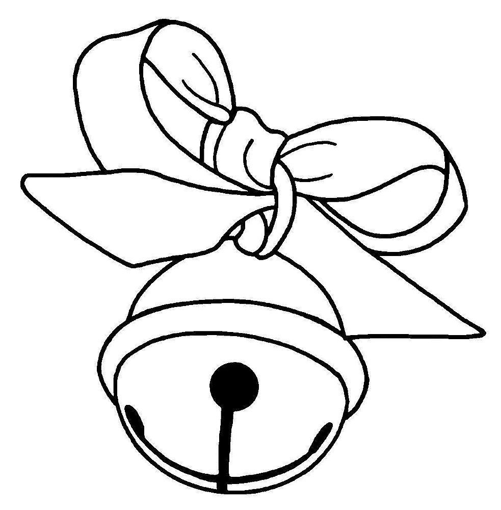 Sleigh Bell Christmas Coloring Pages Christmas Coloring Sheets Coloring Pages