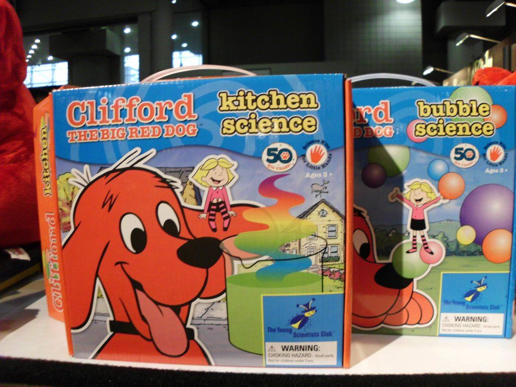 Clifford The Big Red Dog Science Kits For Kids Ages 3