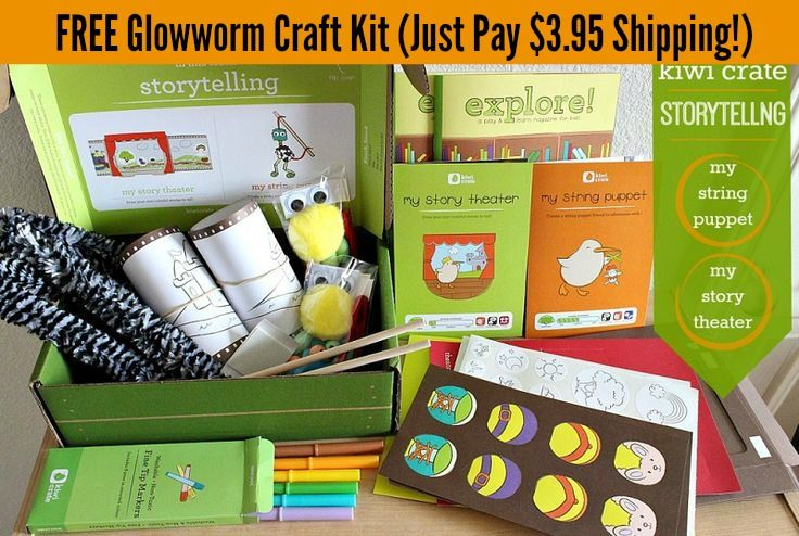 Monthly Craft Kits For Kids Crafting