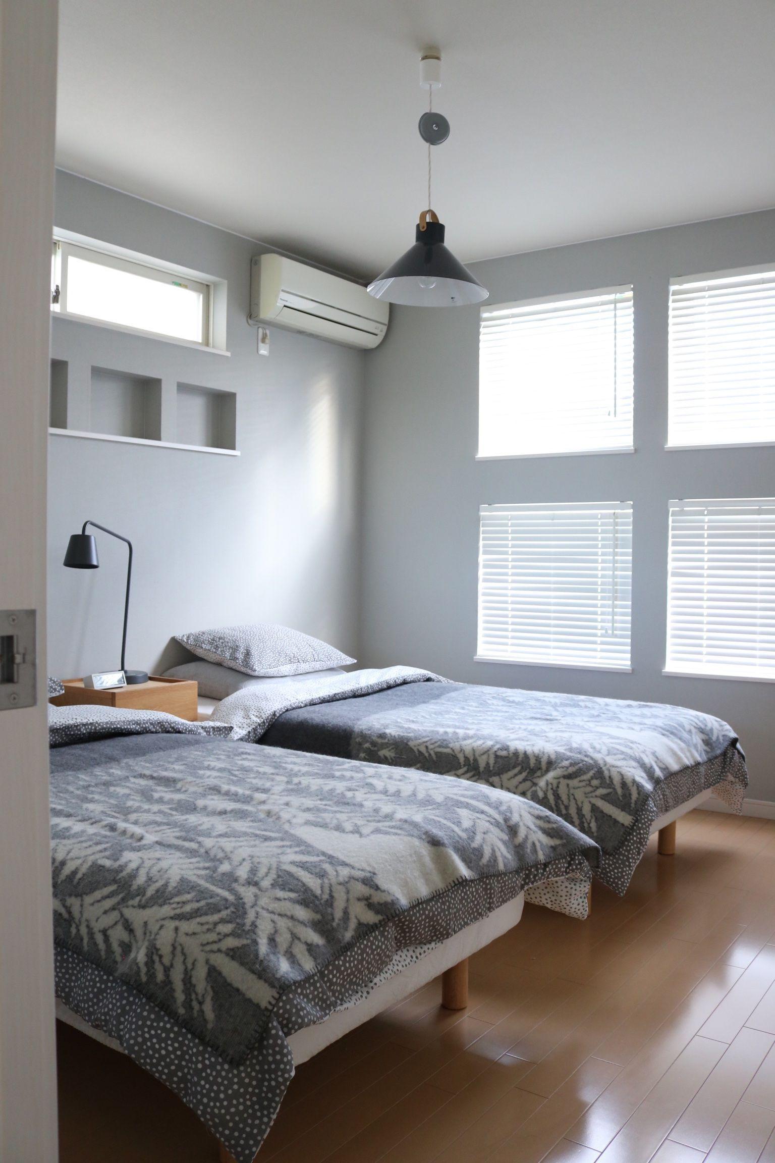 ベッドルームの冬じたく。。 - Ducks Home【2020】   インテリア ...