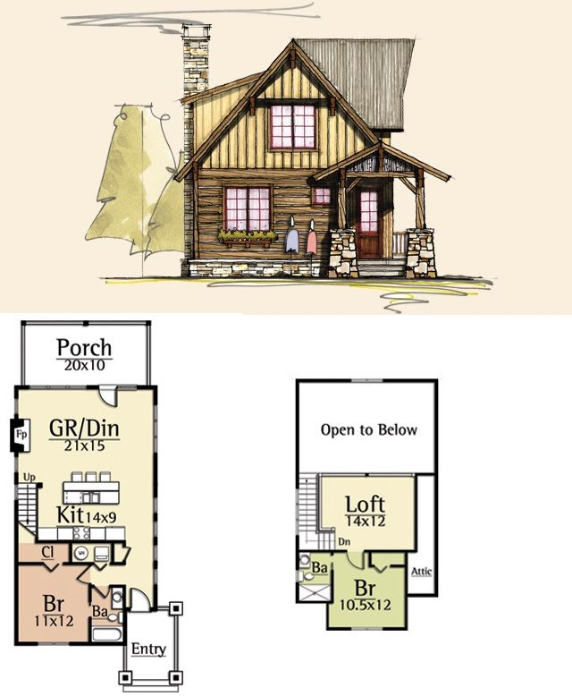 Moss Creek House Plans Outfitter I 1283 Sq Ft