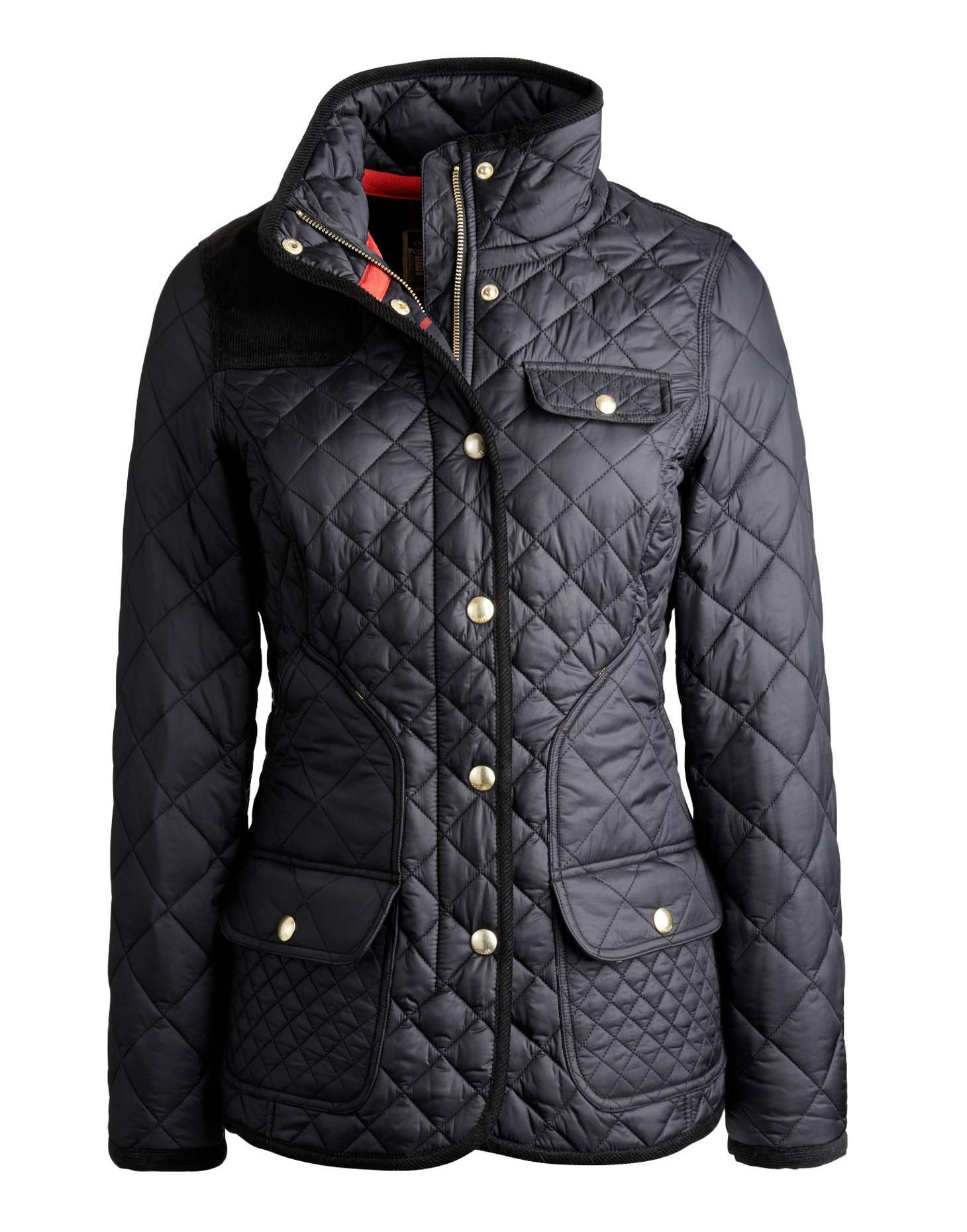 Calverly Womens Coat Clothing Pinterest Quilted Jacket And Black