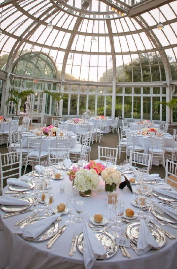 Brooklyn Botanic Garden Wedding by Joshua Zuckerman