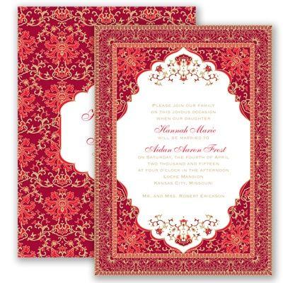 Persian poppy wedding invitation elegant india mehndi farsi ethnic persian poppy wedding invitation elegant india mehndi farsi ethnic at invitations by davids bridal filmwisefo Images