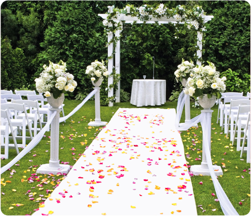 White Carpet Aisle Runners White Wedding Arch Arch Decoration Wedding Wedding