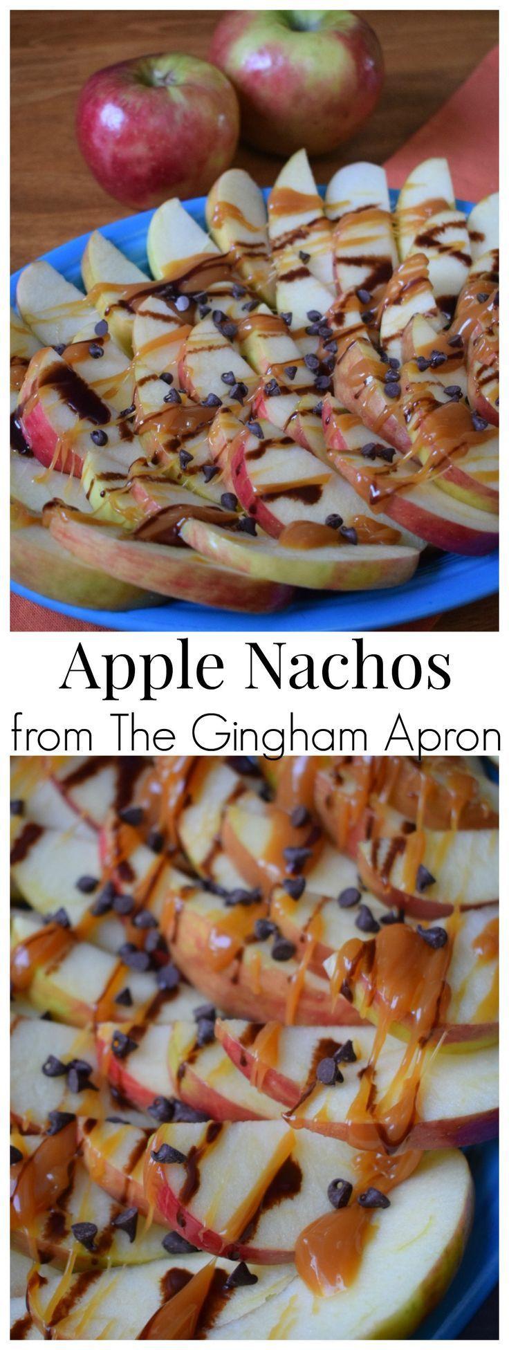 Apple Nachos Apple Nachos- a quick, fun, easy, and delicious fall snack!