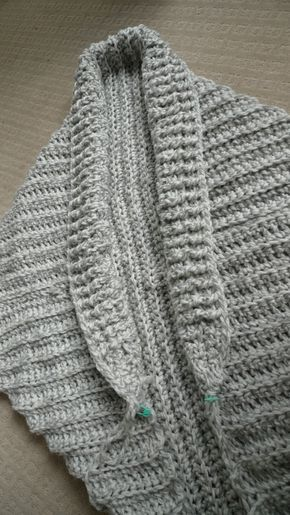 Easy Chunky Crochet Sweater