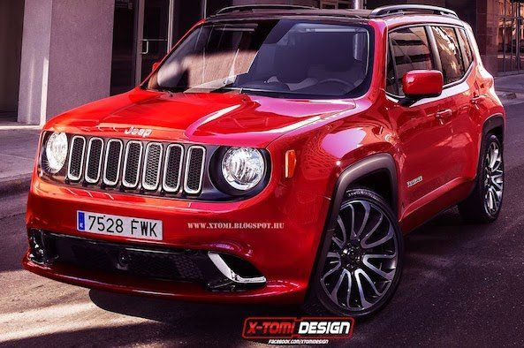 2015 Jeep Renegade Trailhawk SRT | Jeep Renegade SRT Rendered, But Will Jeep Build It? I would be interested but they probably wont offer the SRT version