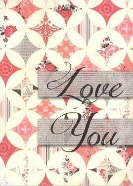 Romantic-- quilt pattern design