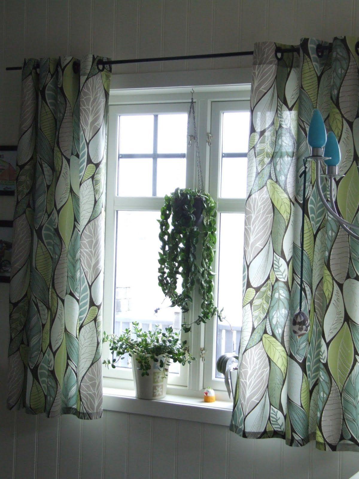 Liker gardinene! | Zu Hause Ideen | Pinterest | Haus ideen, Vorhänge ...