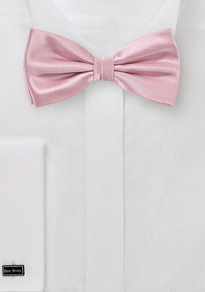Schleife Einfarbig Rose Einfarbige Fliegen Fliege Krawatte Farben Und Rosa Fliege