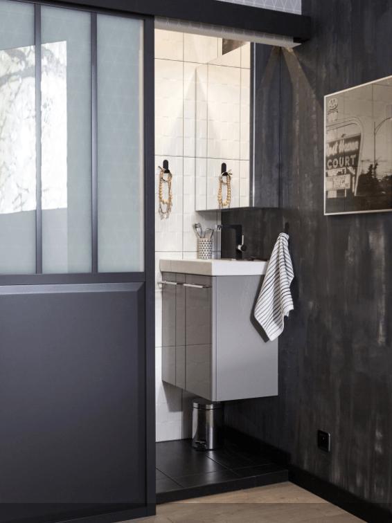 O trouver une porte coulissante atelier style verri re for Ou acheter salle de bain