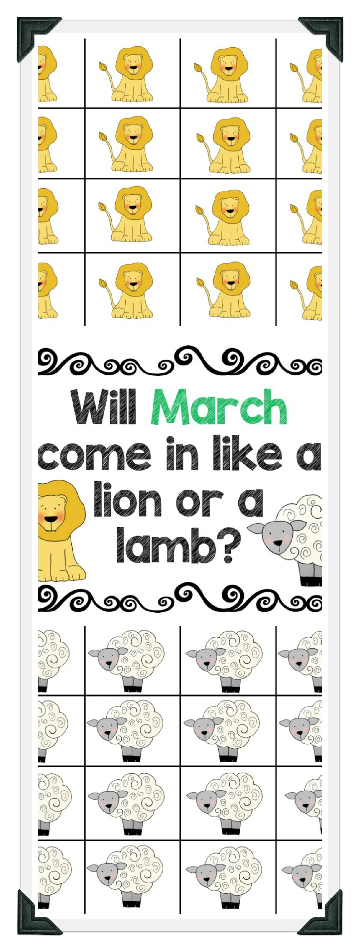 March In Like A Lion Out Like A Lamb A Data Collection