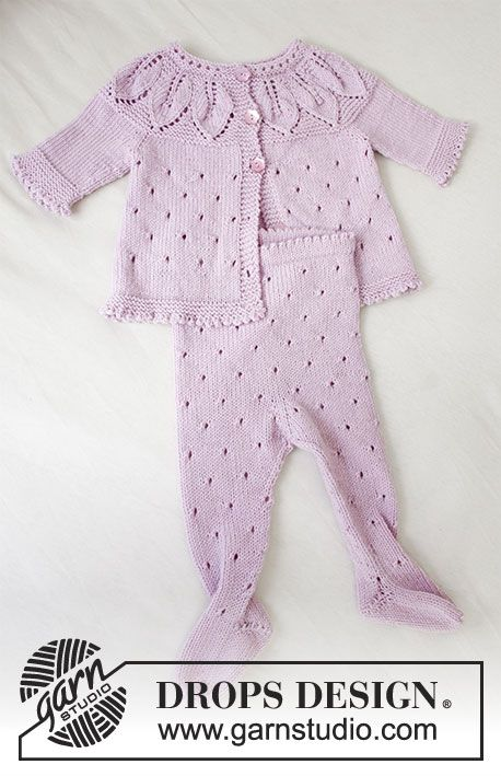 Photo of Pink Petals / DROPS Baby 33-13 – Kostenlose Strickanleitungen von DROPS Design