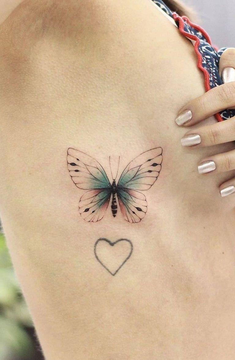 Schmetterling Tattoos Schauen Sie sich die 40 besten im Internet an Ic