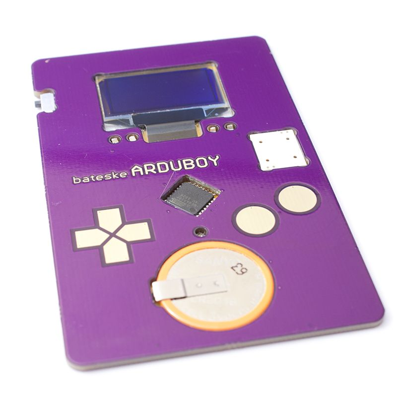Arduboy by bateske :: a game the size of a credit card, with a ...