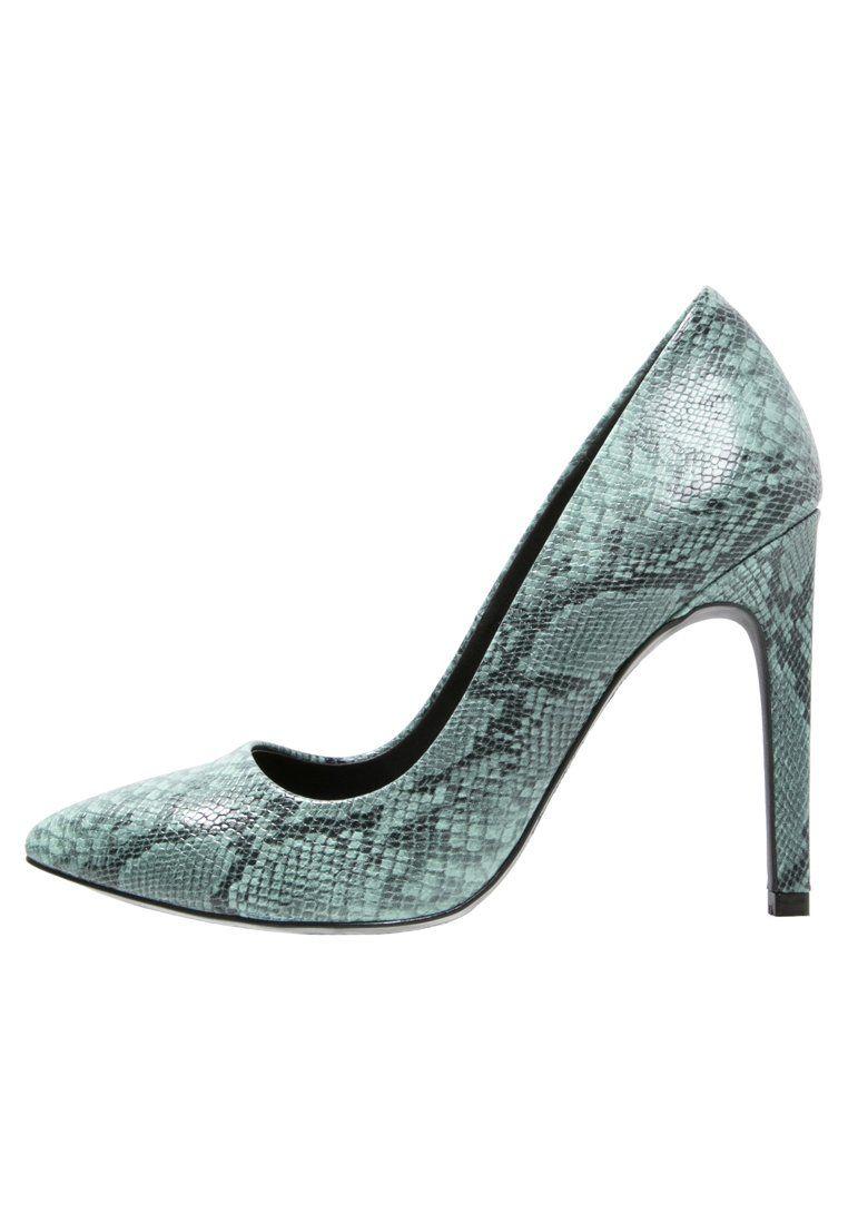 Even Odd Szpilki Wezowe Zielone Mint Fashyou Pl Stiletto Heels Even And Odd Heels