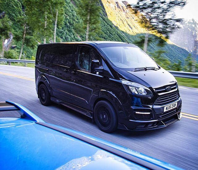 Another Angle Of My Signature Msportltd Ford Transit Van During