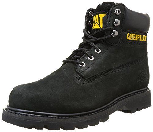 Zapatos negros con cordones Caterpillar para hombre MuDhUxWzxV