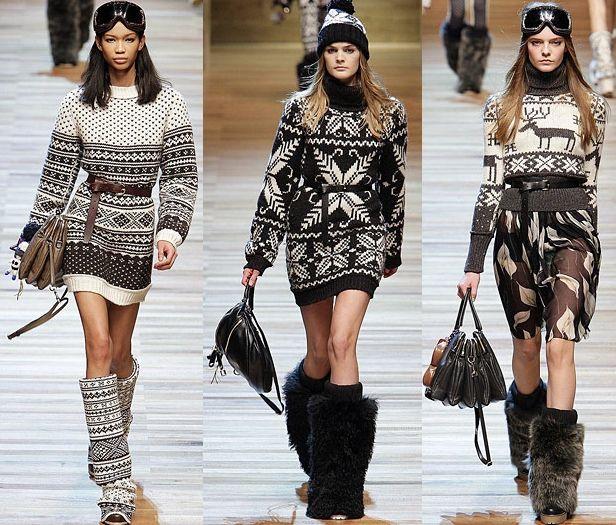 Great Norwegian-inspired fashion, Dolce & Gabbana 2010; Through ...