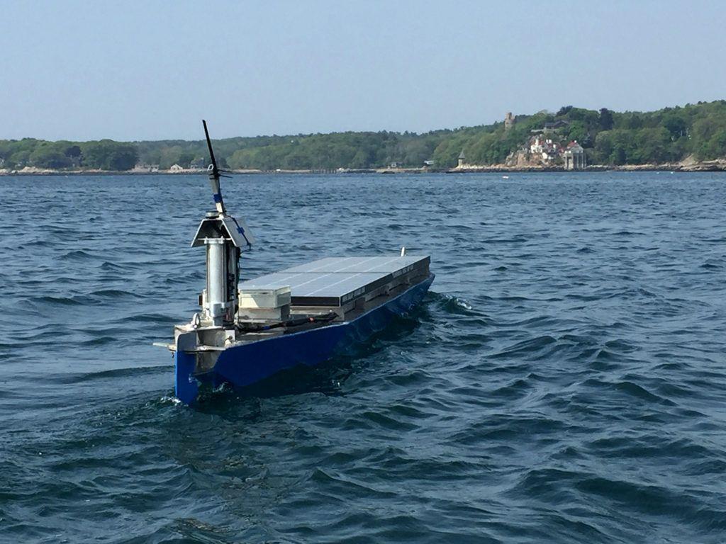 Autonomous Transatlantic Self-Sailing Solar Ship Set To Break Records as it Crosses the Atlantic